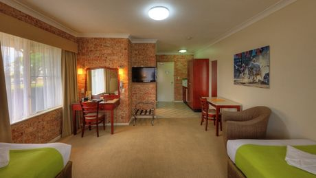 Disabled / Twin Single Room   Endeavour Court Motor Inn Dubbo NSW
