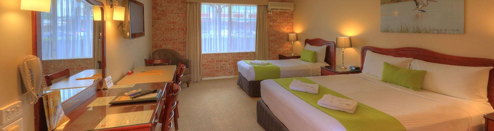 Queen Twin Room - Endeavour Court Motor Inn Dubbo NSW